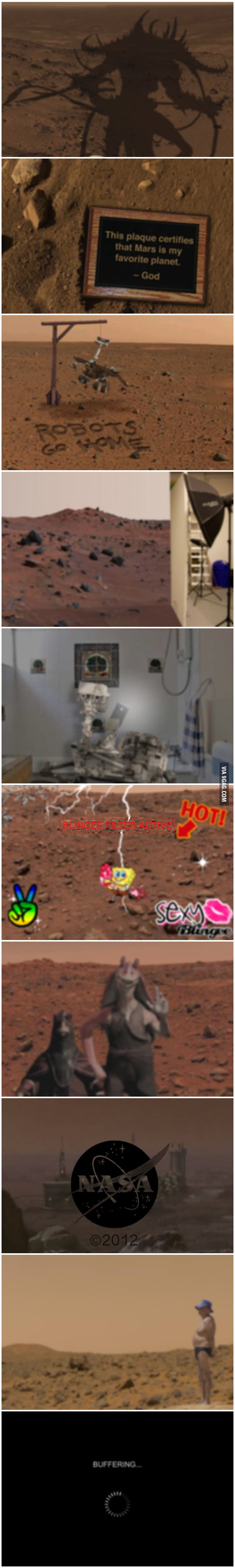 The Worst Pictures the Mars Rover Could Send Back