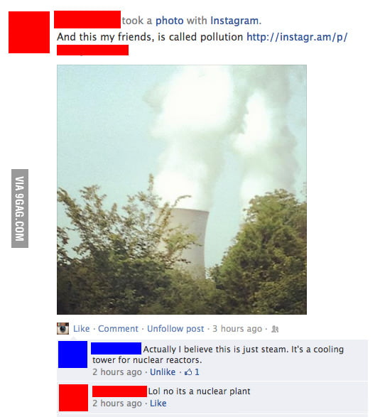 Lol no its a nuclear plant