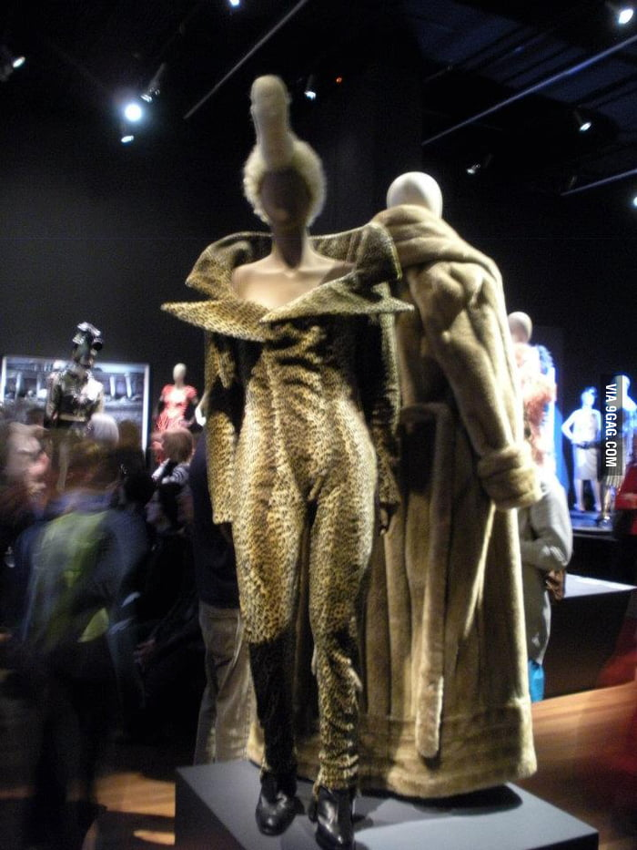 Saw this in a fashion exhibit