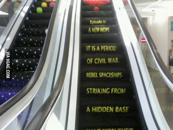 Best Escalator Ever!