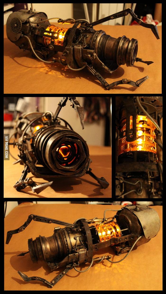 Steampunk Portal Gun