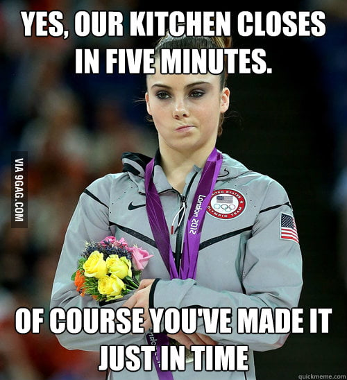 Any server or cook can relate to this...