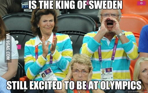King of being awesome! (...and also Sweden)