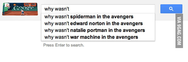 You know me so well, Google