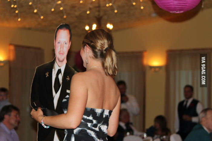 How to dance when your husband is not around...