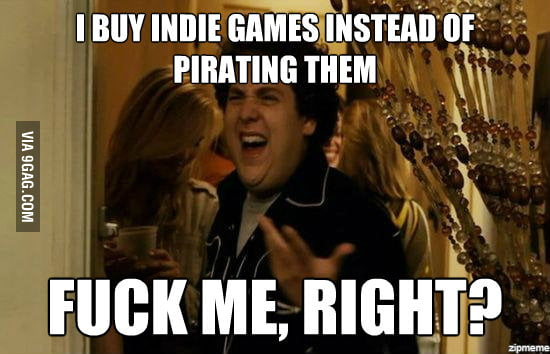 Yes, I buy games.
