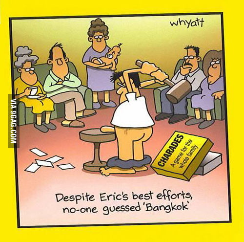 "Despite Eric's best efforts, no one guessed ""Bangk"