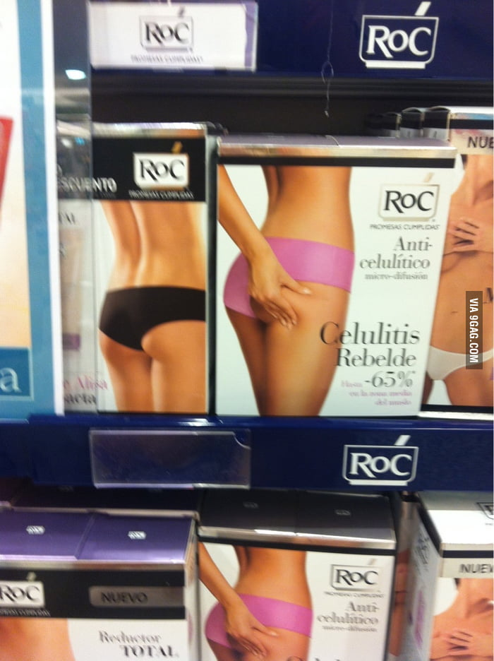 Some packagings getting frisky with each other in Spain.
