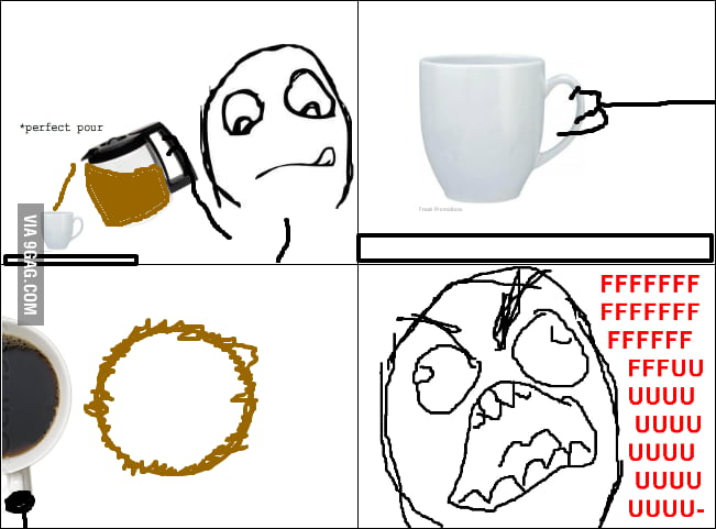 Coffee Rage (the impossible pour)