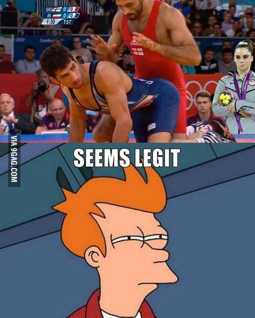 Wrestling fail