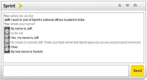 No Indian is named Jeff.