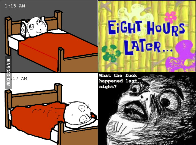 This always happens when I sleep.
