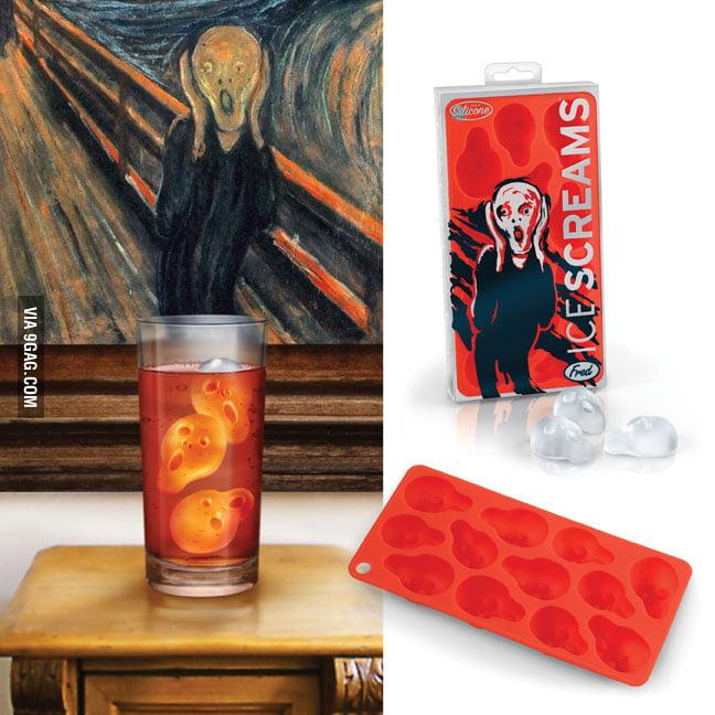 "Ice Scream - ""The Scream"" Ice Tray"