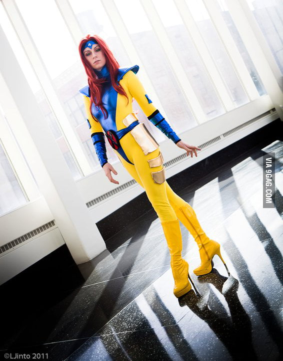 90's Jean Grey by Kearstin