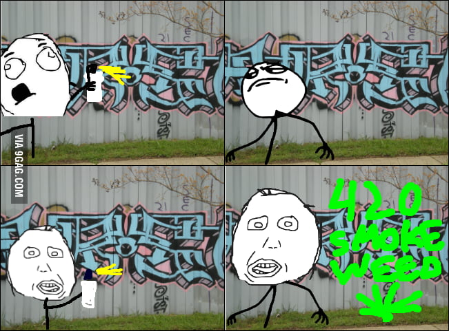This really annoys me when I see graffiti