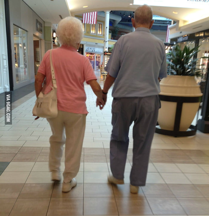 I love when old couples do this
