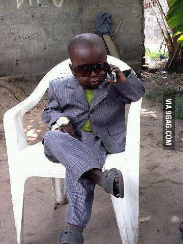 Success Skeptical Third World Kid