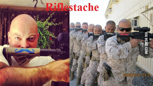 Because sir stache is to mainstream