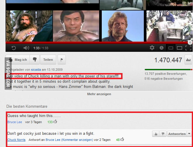 Epic youtube comment is epic!