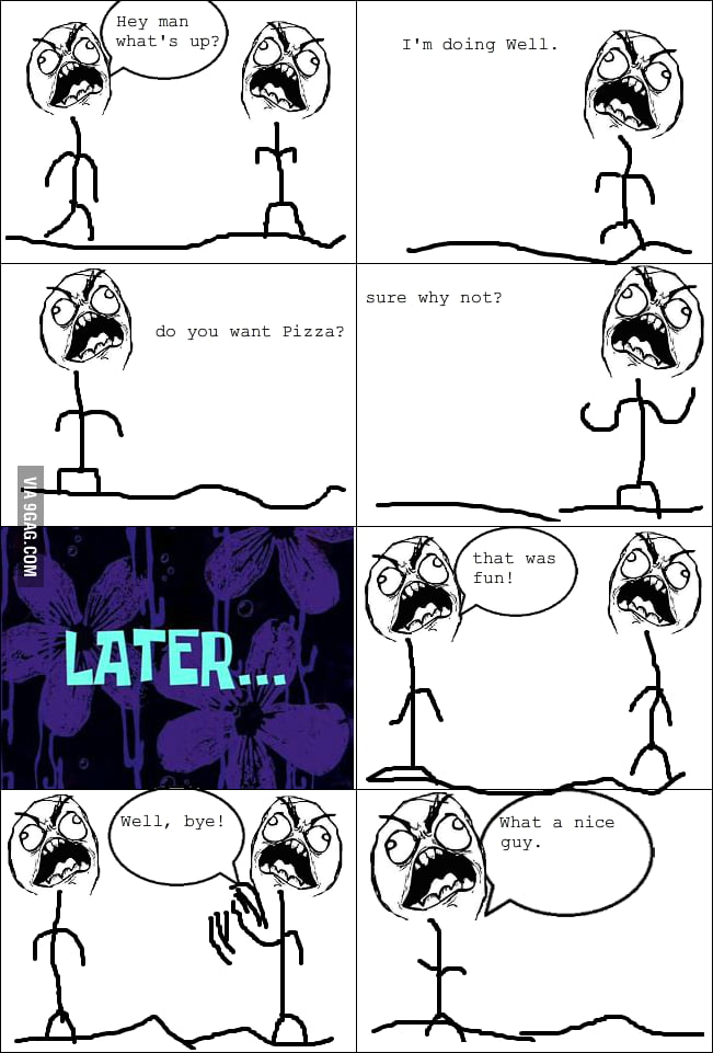 Trying to make rage comics with just one face...