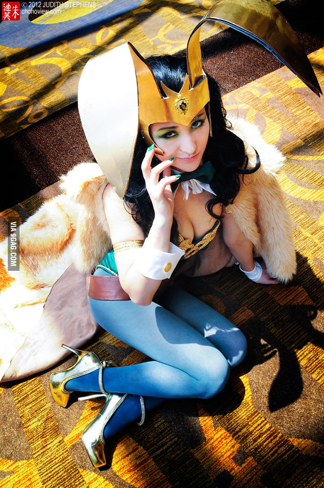 Bunny Girl Loki - Marvel Comics