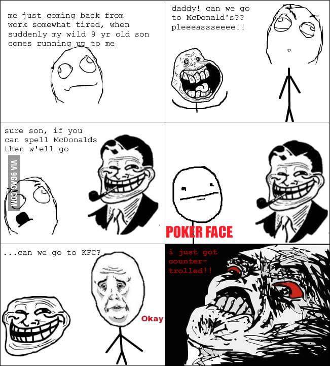 Troll kids nowadays...