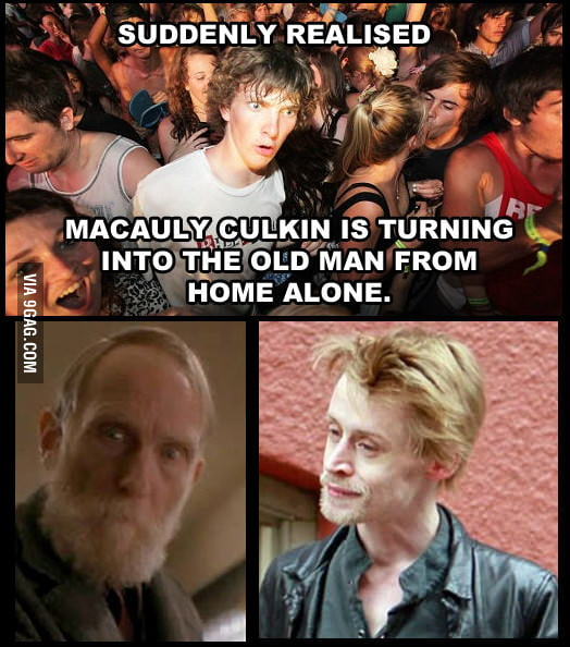 Is Macauly Culking a time traveler?