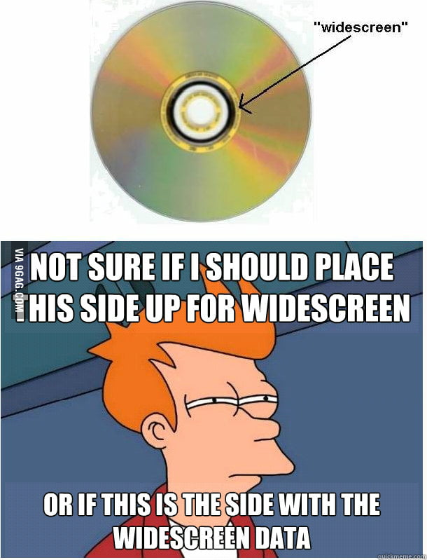 Whenever I Have a Double-Sided DVD.