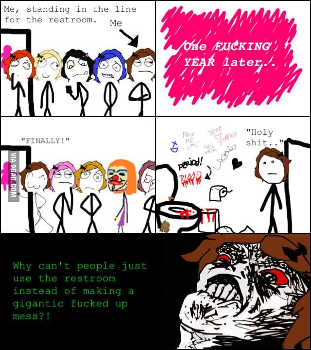 Reason I don't like using public restrooms