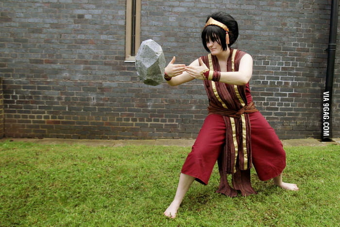 Avatar: Toph Beifong Earthbender Cosplay