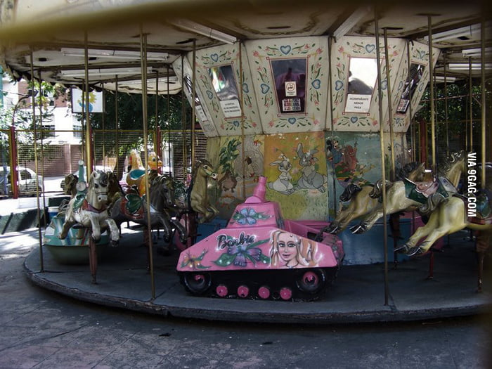 A carrousel in Russia