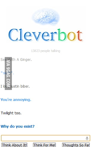 Cleverbot being clever