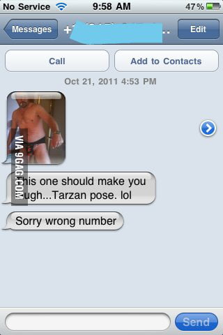Sorry wrong number