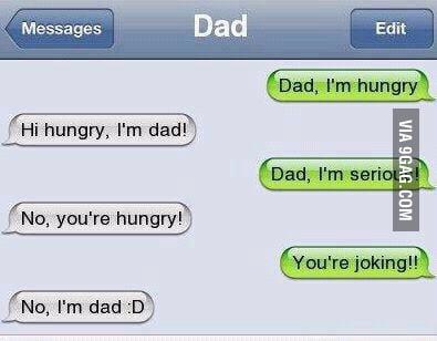 Oh, dad....