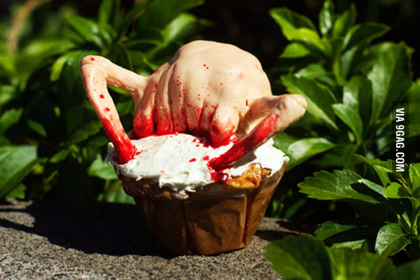 Headcrab Cupcake