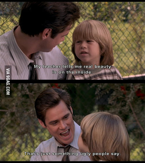 Jim Carrey speaks the truth.