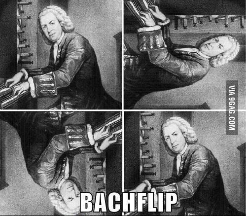 Bachflip.