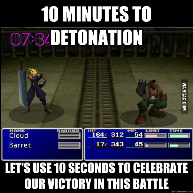 Final fantasy VII logic