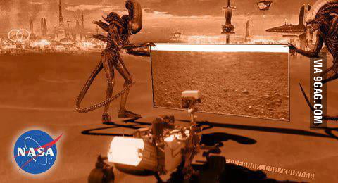 What if Mars actually looked like this?! thoughts?!?!?!