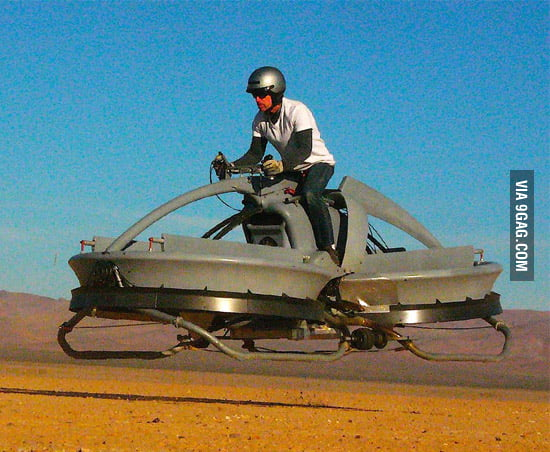 Star Wars Speederbike rides into reality