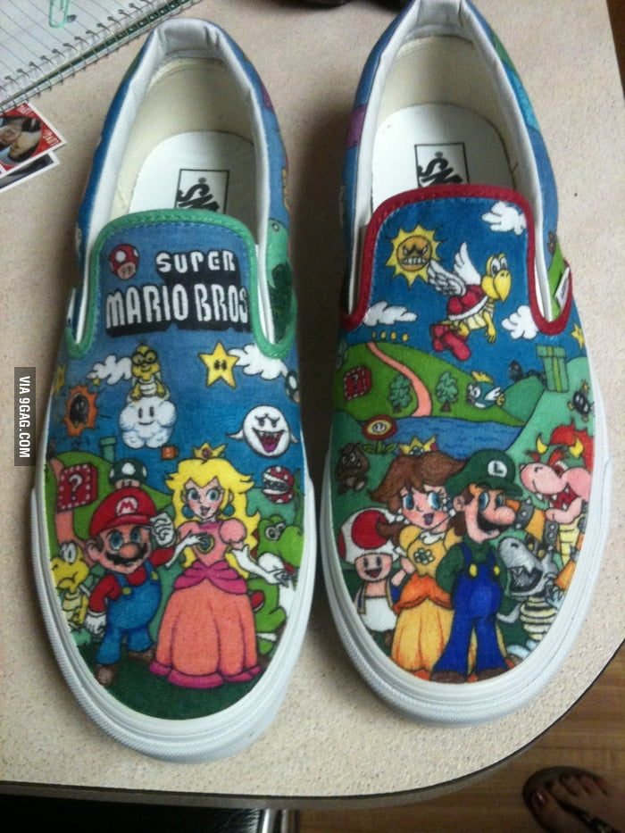 Mario Shoes DIY