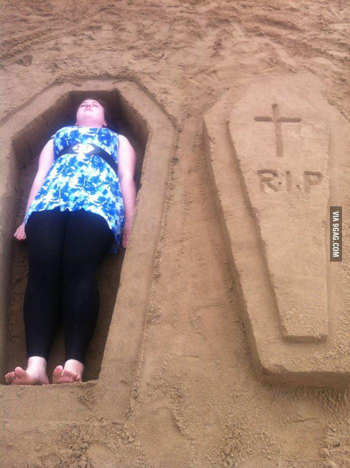 The joys of sand