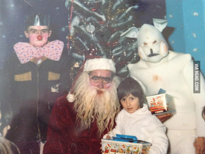 Christmas was scary in Yugoslavia