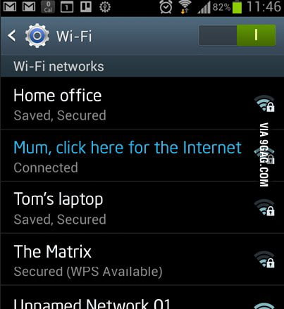 how to get your ssid