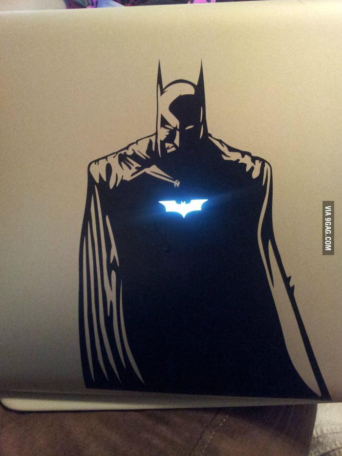 Badass Batman MacBook Decal!