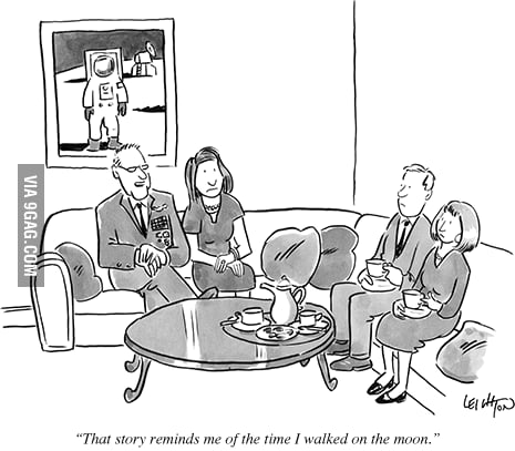 An old New Yorker comic. R.I.P. Neil Armstrong.
