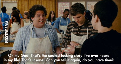 My reaction to everything on Facebook