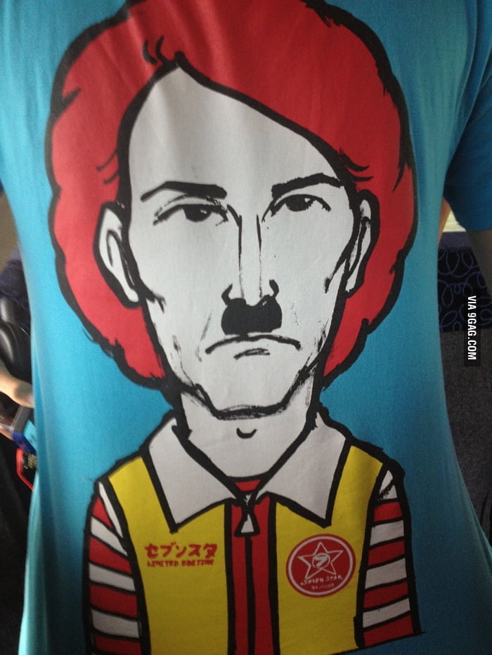 Ronald McDonald is Hitler for cows