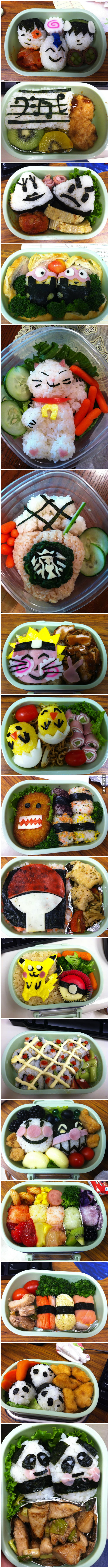 My friend makes these lunches for her kids...