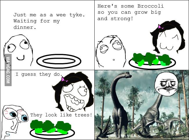 I actually liked broccoli